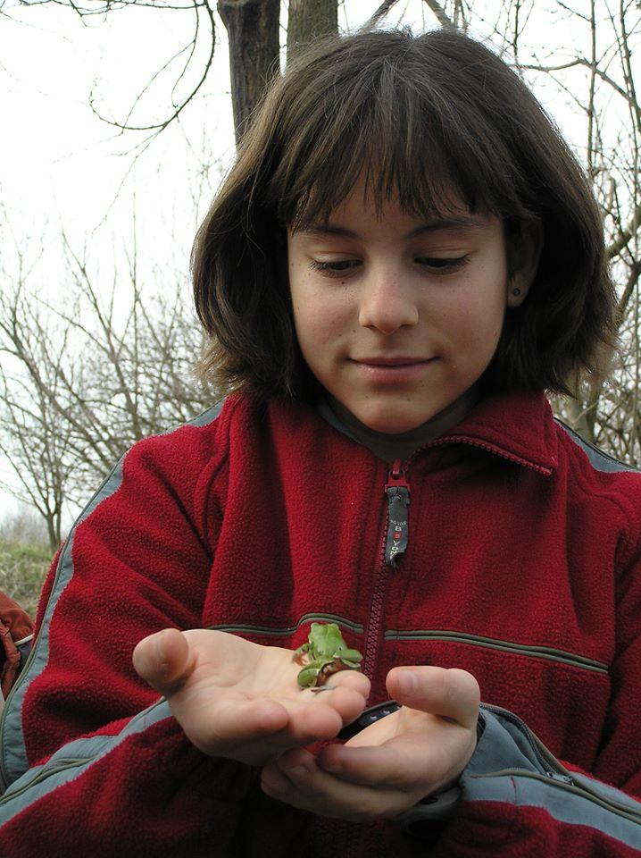 Békaszelídítés az őrjegi tónál, a kalocsai zöldszíves országos találkozón