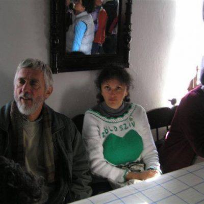 Múzeum látogatáson. Zöld Szív Országos találkozó, Debrecen, 2005