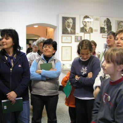Múzeumlátogatás, Zöld Szív Országos Találkozó, Debrecen, 2005