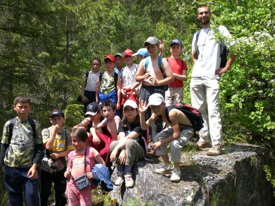 Székelyföldi Zöldszívesek Borszék környéki túrán