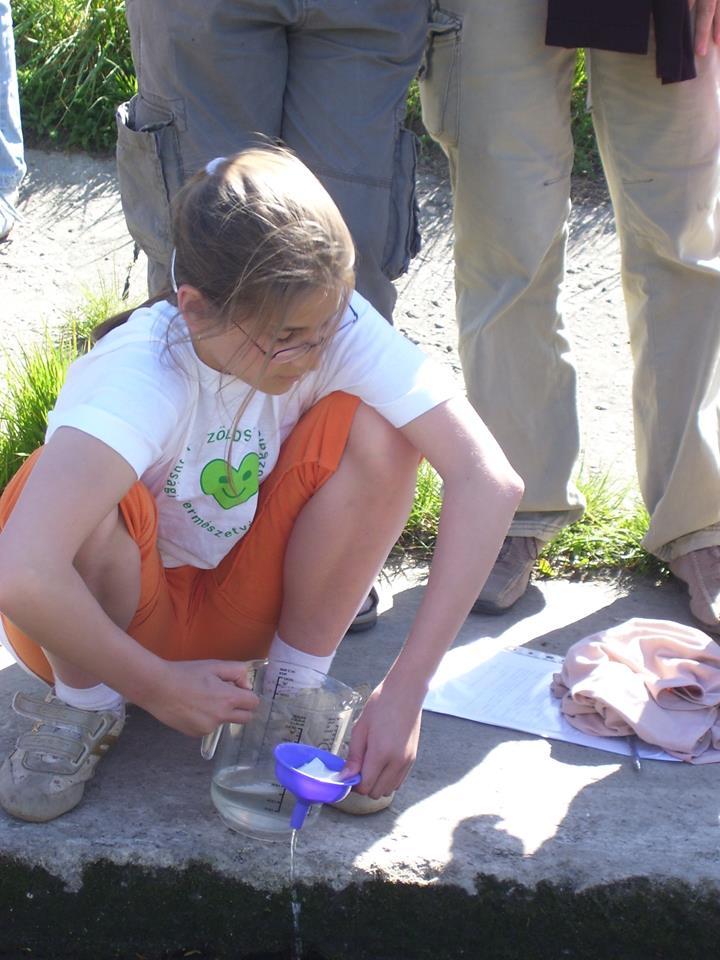 Vízvizsgálat Soroksáron, 2007-ben a Zöld Szív országos találkozó keretében