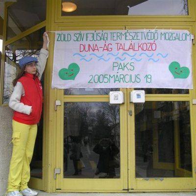 Zöldszíves Duna-Ág találkozó Pakson, 2005-ben